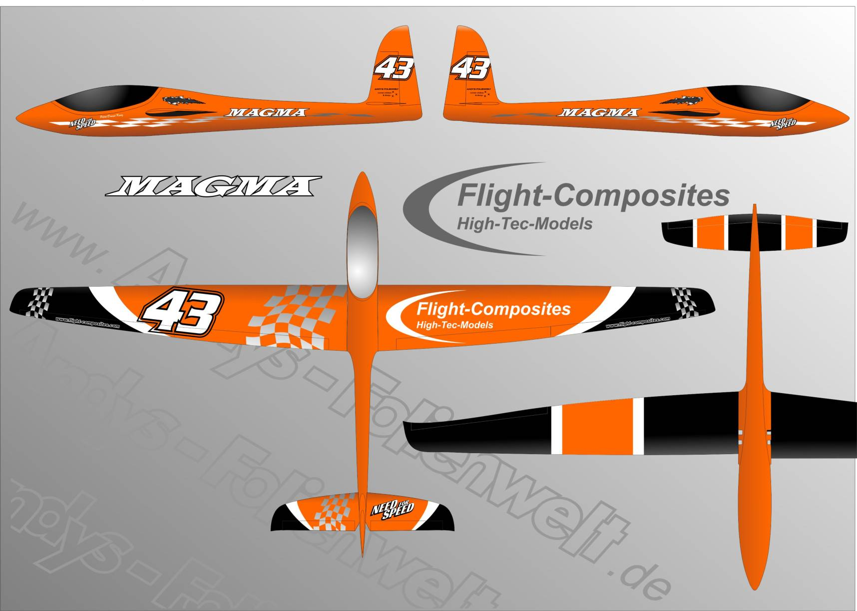 Magma Fligh Composites