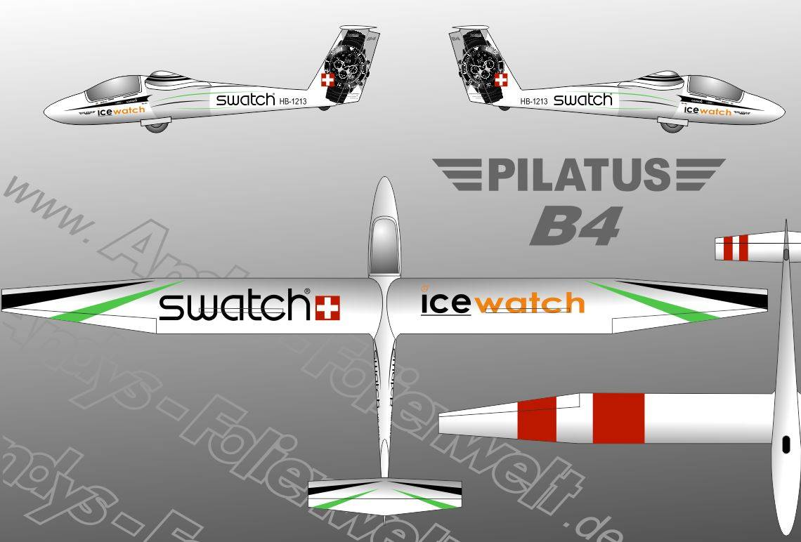 Pilatus B4 Ice Watch