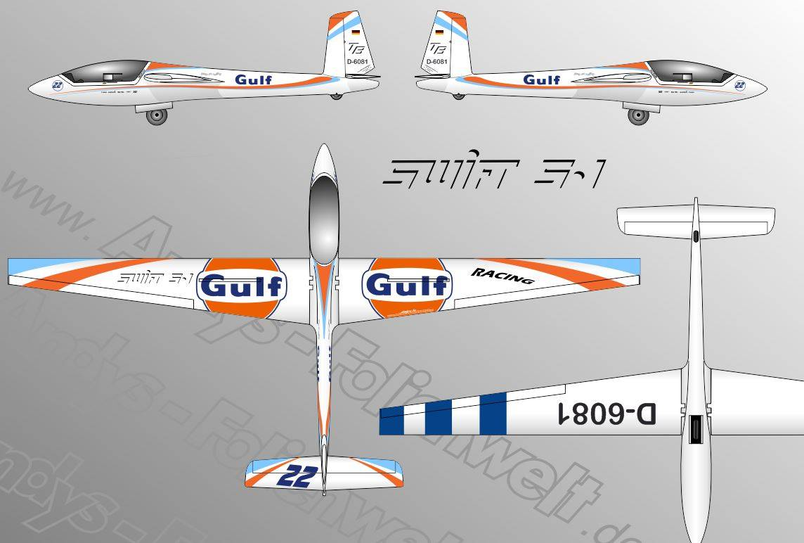 Swift S1 Gulf weiß