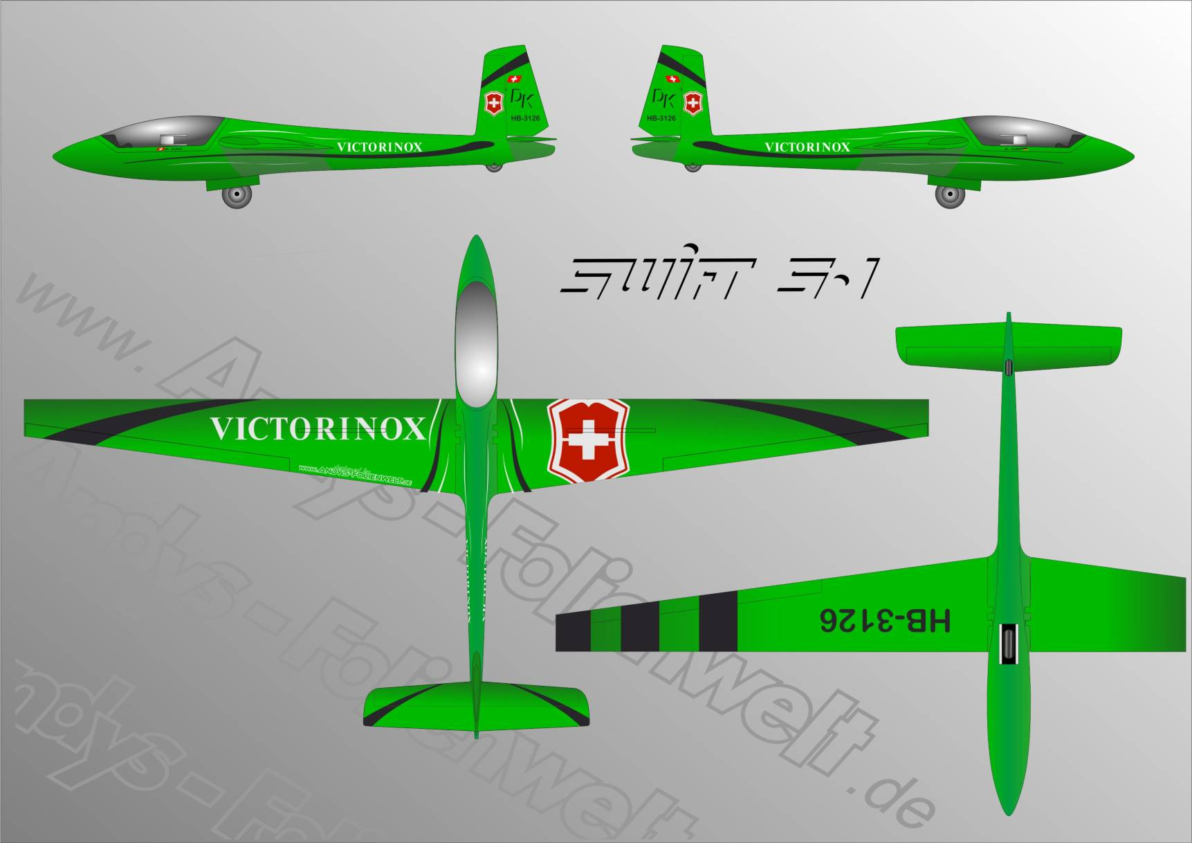 Swift S1 XModels Victorinox