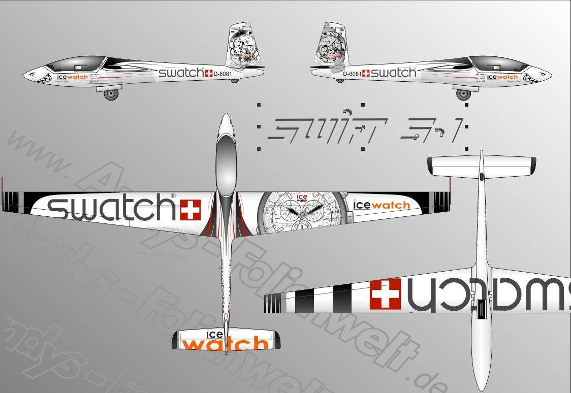 Swift S1 ice watch